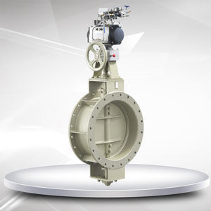 600S pneumatic low-load butterfly valves
